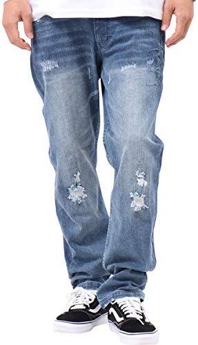 ジーンズ バック タトゥー 総 刺繍 デニム パンツ 193M1801