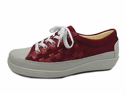 à Lacets Chaussures 9371951 14 Pour de Dietz Ville Christian Rouge Femme qgYPx