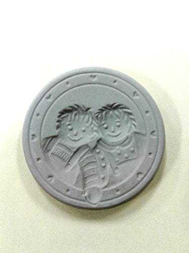 Brown Bag Ann & Andy Cookie Mold - 3