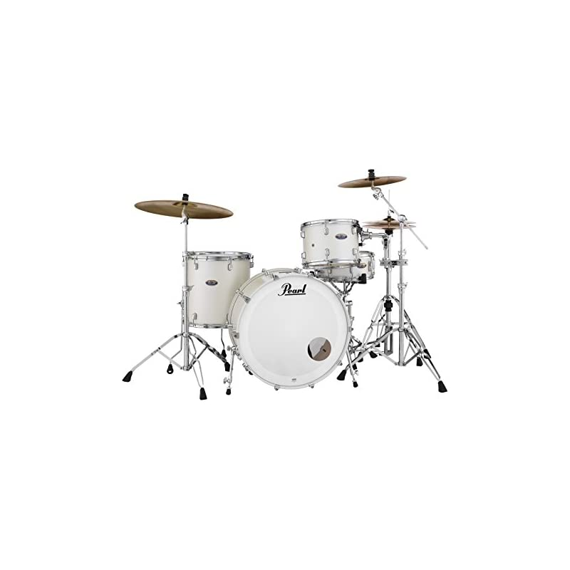 Pearl Drum Set, White Satin, inch (DMP943XPC229) - 2019