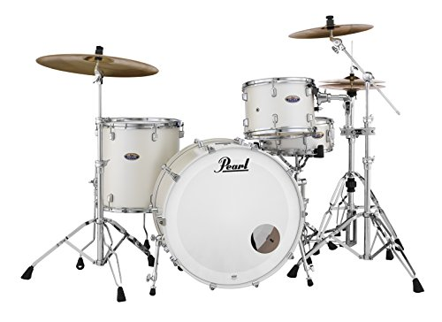 Pearl Drum Set White Satin (DMP943XPC229