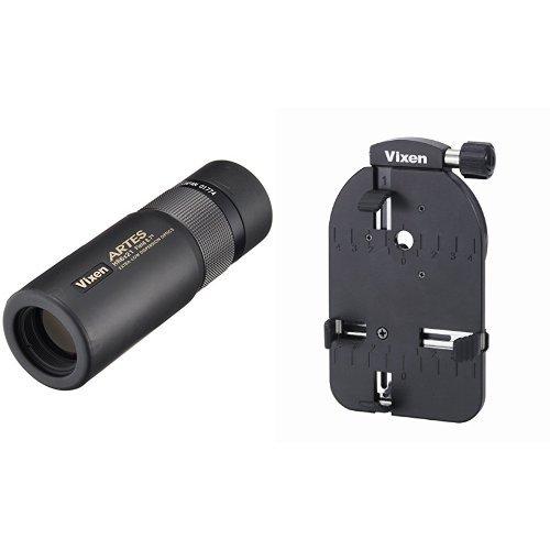 Vixen 単眼鏡 アルテスモノキュラー HR6×21 + 撮影用スマートフォンカメラアダプターセット B01M8NZKJU