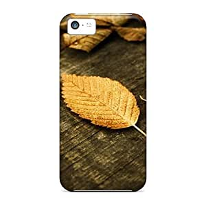 TYHde ipod Touch4 Cases Covers - Slim Fit Protector Shock Absorbent Cases (autumn Wallpapers Fallen Leaves) ending