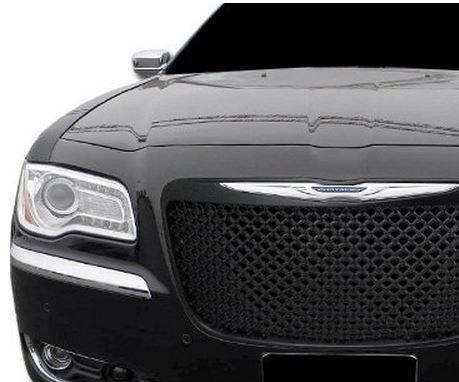 Chrysler 300 C Euro BLK estilo Luxury capucha Bumper de rejilla de parrilla frontal de malla: Amazon.es: Coche y moto