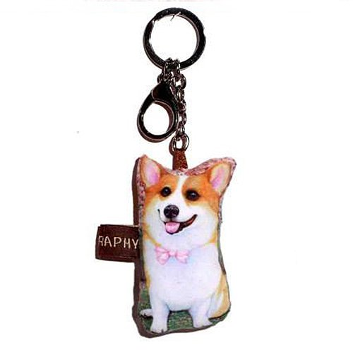 Sansukjai Key ring Key chain Corgi Fabric Dog lover High 10 - Store Tiffany Locator Usa