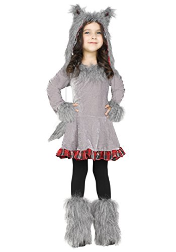 Wolf Cub Toddler Costume, 3T-4T (Toddler Wolf Costume)