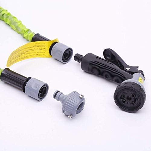 Extendable garden hose pipe with 8-function nozzle Flexible expanding water hose Free garden storage for outdoor garden house