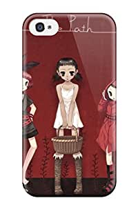 gloria crystal's Shop little red riding hood anime Anime Pop Culture Hard Plastic iPhone 4/4s cases 2384361K933470912