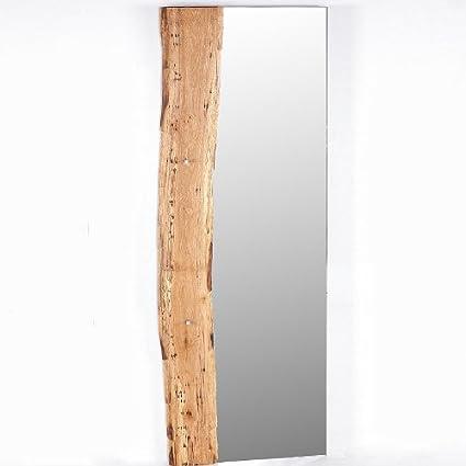 70 x 190 cm rústico perchero Espejo teca maciza Piso Espejo ...