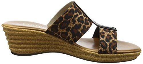 Bout Leopard Lotus Sandales Vizza Orange Ouvert Femme qqABP