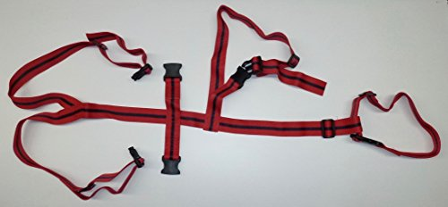 Adopta Mothering Restraint Harness by Rurtec, For Sheep, Goats, Ewes & Nannies, Helps Adopted Lambs & Kids Mother On, Lambing Farming Tool, Made in New Zealand