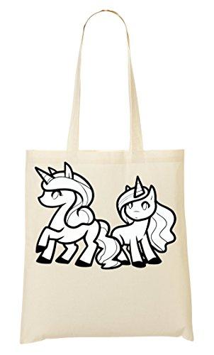 Bolsa Bolso Compra Mano De La Unicorn De Ponies qHTwUU