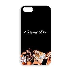 JiHuaiGu (TM) iPhone 5 5s funda Little Mix personalizado temático iPhone 5 5s funda OK4966