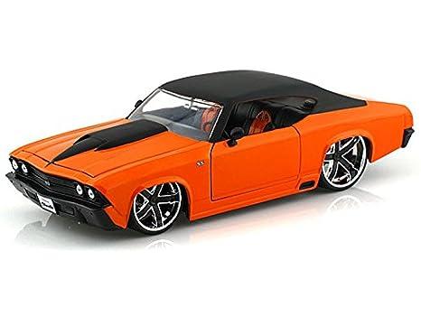 1969 Chevy Chevelle 1 24 Orange