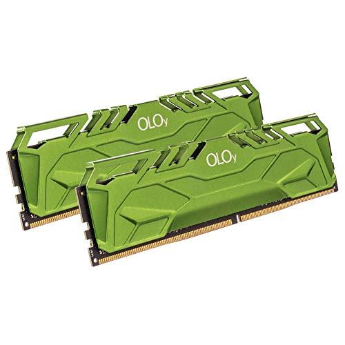 OLOy DDR4 RAM 64GB (2x32GB) 3000 MHz CL16 1.35V 288-Pin Desktop Gaming UDIMM (MD4U3230161DHGDA)