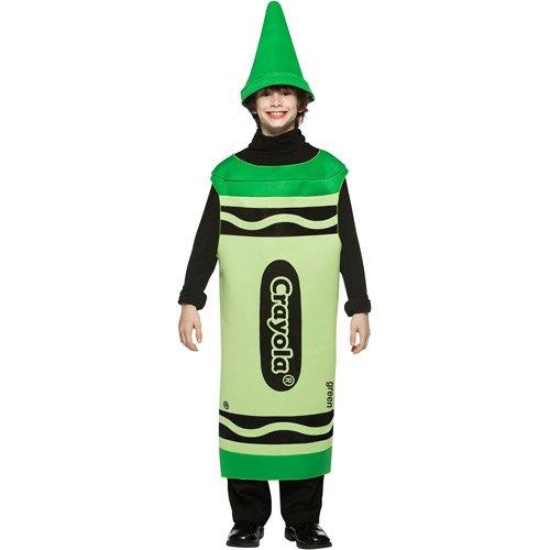 Kids Crayola Halloween Costume - Green Crayon (Crayola Tween Green Crayon Costumes)