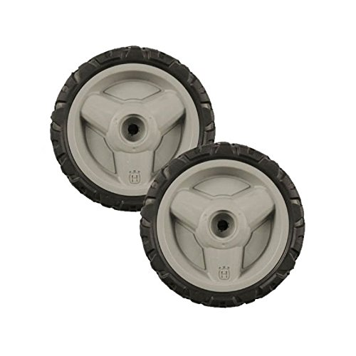Set Of 2 Husqvarna OEM Lawn Mower Tire Wheel 580365301 Fits HU800AWD