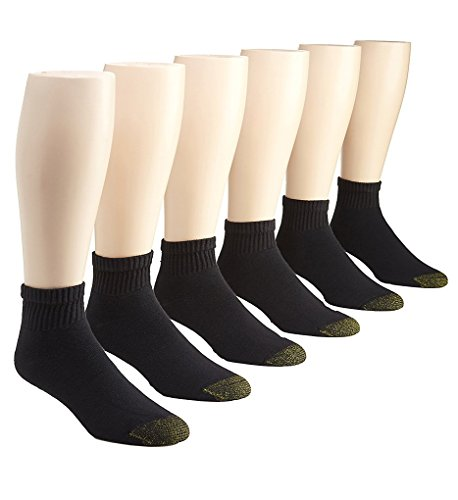 Gold Toe Men's 656p Cotton Quarter Athletic Socks, 6 Pack – DiZiSports Store