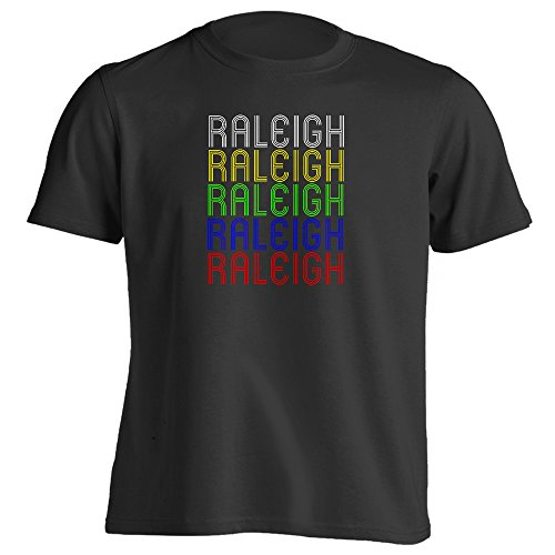 4Ink Retro Hometown - Raleigh, NC 27607 - Black - Large - Vintage - Unisex - - Raleigh Of Town Nc