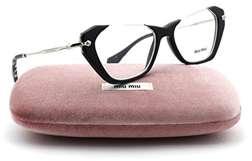 Miu Miu MU 04OV RASOIR Women Eyeglasses Black Frame 52mm - Miu For Miu Sale