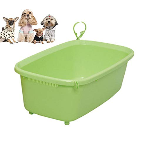1b66163d41eb Pet Bath Tub,Oval Laundry Basket - Storage Container/Organizer - Portable  Washing Bin - Space Saving Hamper