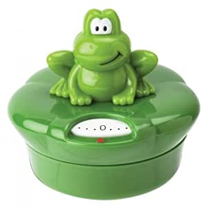 Ribbit 60 Minute Mechanical Kitchen / Egg Timer - Jo!e Joie Frog Cooking