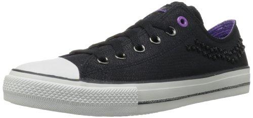Skechers Womens Gimme Sneaker Bassa Nera
