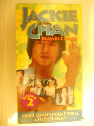 Round 2 Jackie Chan Rumble Pack  Jackie Chans Police Force And Fists Of Chan  Vhs