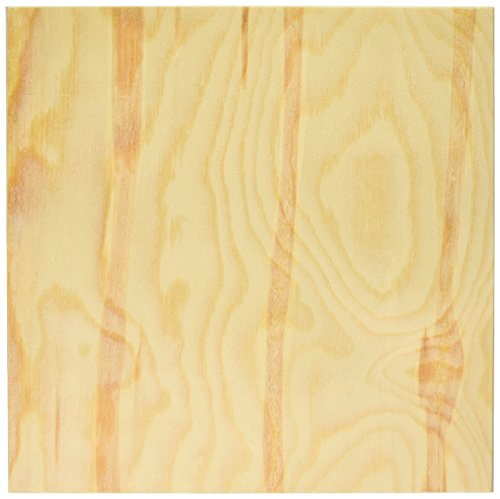 DARICE 9190-336 Unfinshed Wood Wall Panel, 12 by 12 by 1-Inch (12 X 12 Wood Panel compare prices)