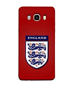 ColorKing Football England 17 Red shell case cover for Samsung J5 2016