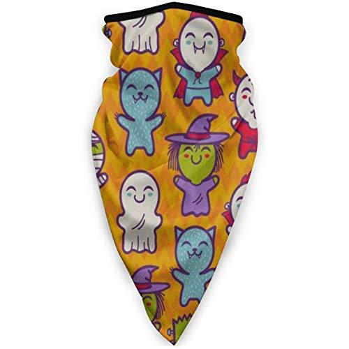 Halloween Cute Black Cat Claw Scratch Glass Scary Face Half Face Mask Balaclava Women Men Ski Mask Bandana for…