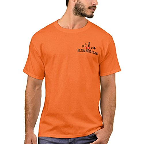 -Shirt, Hilton Head Island. T-Shirt, Athletic Orange XXXL (420a Head)
