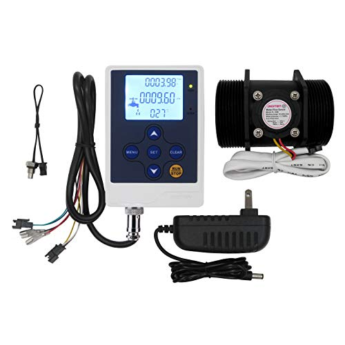 DIGITEN Water Flow Control LCD Display+G2''Flow Sensor Meter+12V Power by DIGITEN