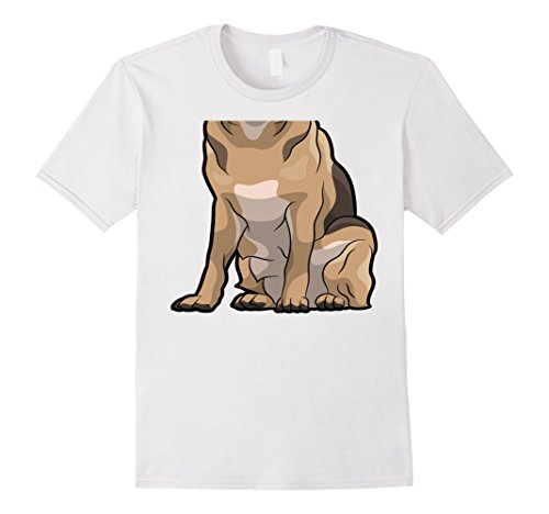 Easy Halloween Costumes College Couples (Mens Funny Dog Costume Shirt - Easy Halloween Costume Tees Tshirt XL White)