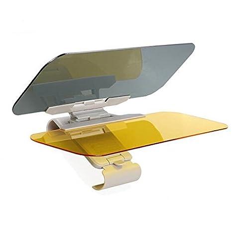 Car Anti-Glare Windshield Extender - Universal Sun Visor Goggles Day and Night Vision Anti-Dazzle (The Dazzle Picture Frames)