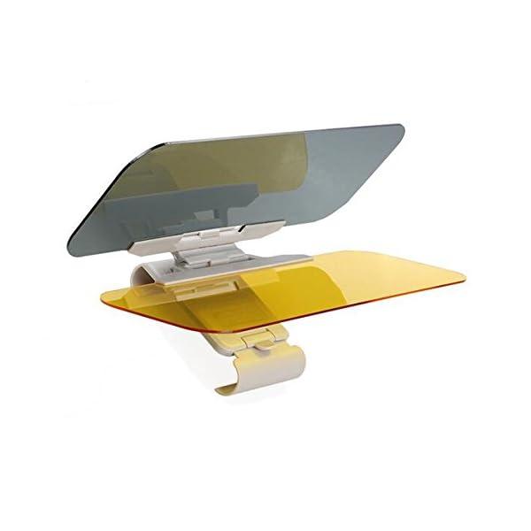 Extensor de Parasol Anti-Deslumbramiento,Coche Anti-Deslumbramiento Anti-Deslumbramiento - Gafas Sun Visor Extensor Protector Solar Shade Día o de la noche anti-deslumbramiento Autour 1