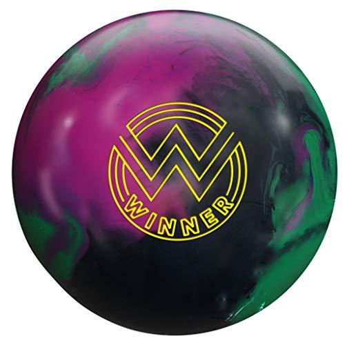 Roto-Grip-RG164-15-Winner-Solid-Bowling-Ball-BlackPurpleGreen-15