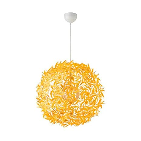 IKEA GRIMSAS - Lámpara de techo (55 cm, A++), color amarillo: Amazon ...