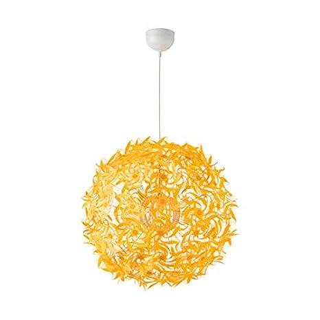 IKEA GRIMSAS - Lámpara de techo (55 cm, A++), color amarillo ...
