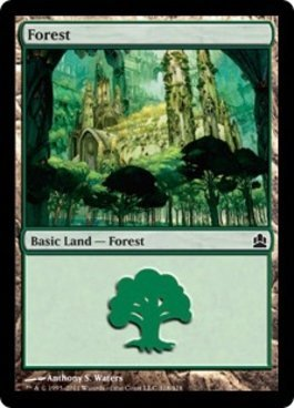 Magic: the Gathering - Forest (318) - Commander