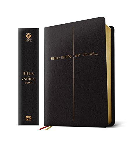 Bíblia de Estudo NVT - Capa Preta