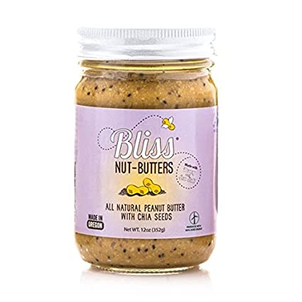 Bliss semillas de chia Mantequilla (6 x 12 oz): Amazon.com ...