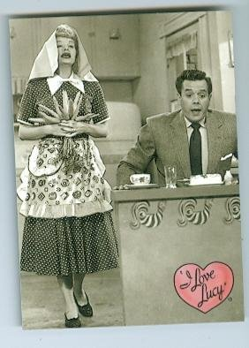 Lucille Ball Desi Arnaz trading card I Love Lucy 2001 Dart #13 Ricky Ricardo The - Autographs Ball Lucille