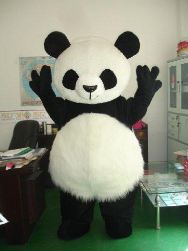 [Cute Giant Panda Baby Mascot Costume Cosplay Cartoon Character by warmcos] (Panda Costume For Sale)