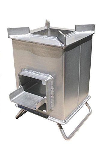 Stainless Steel Grover Rocket Stove For Sale
