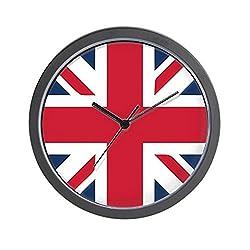 CafePress Classic Union Jack Unique Decorative 10 Wall Clock