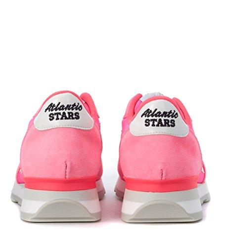 Vega Atlantic Suede in Tessuto e Stars Sneaker Rosa Fucsia 7EPxrSE