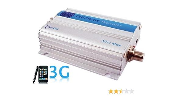KIT Amplificador repetidor de cobertura móvil UMTS (Voz y datos 3G) hasta 100 m2