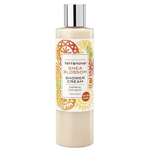 Terranova Shea Blossom Shower Cream, 8.7 Ounce