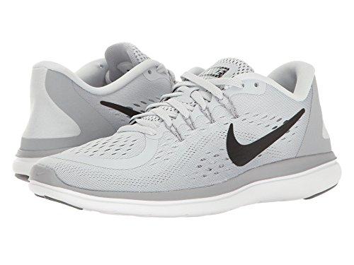 破裂南方の適格(ナイキ) NIKE レディースランニングシューズ?スニーカー?靴 Flex RN 2017 Pure Platinum/Black/Wolf Grey/Cool Grey 8 (25cm) B - Medium